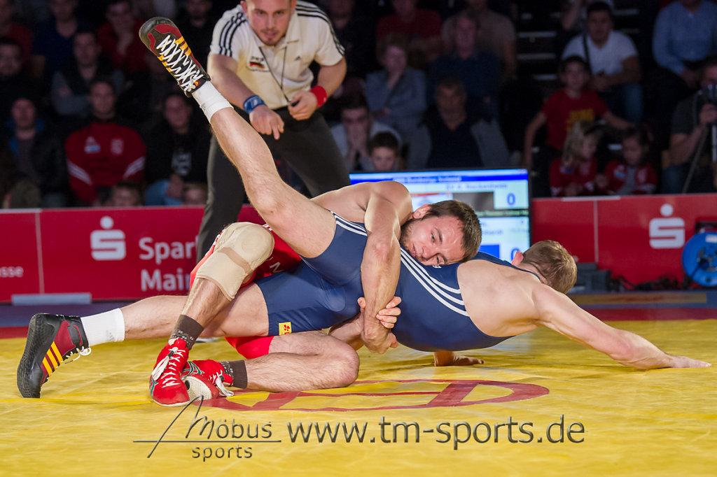 Ruslan Kudrynets vs. Waldimier Berenhardt