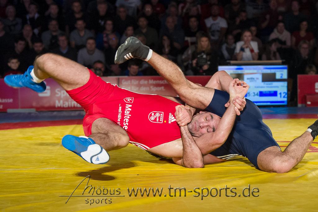 David Bichinashvili vs. Kakhaber Khubetzhty